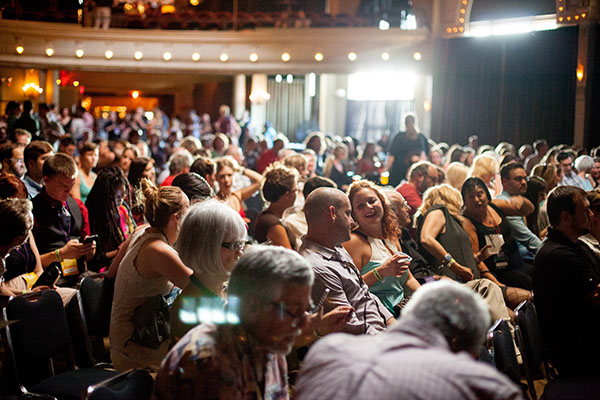 Photo of Portland Film Festival audience