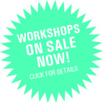 Workshops on Sale Now!