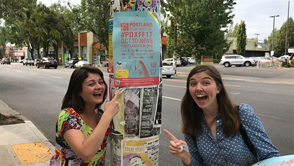 2017 Portland Film Festival Poster Promotion
