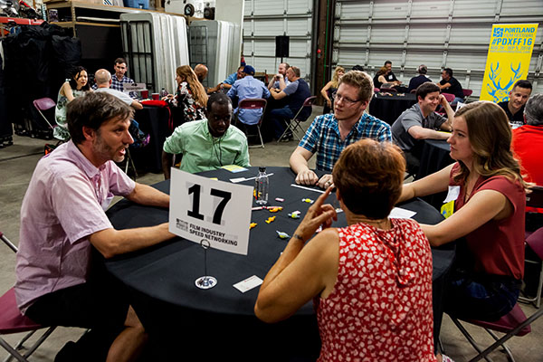 Portland Film Festival Film Industry Speed Networking Event