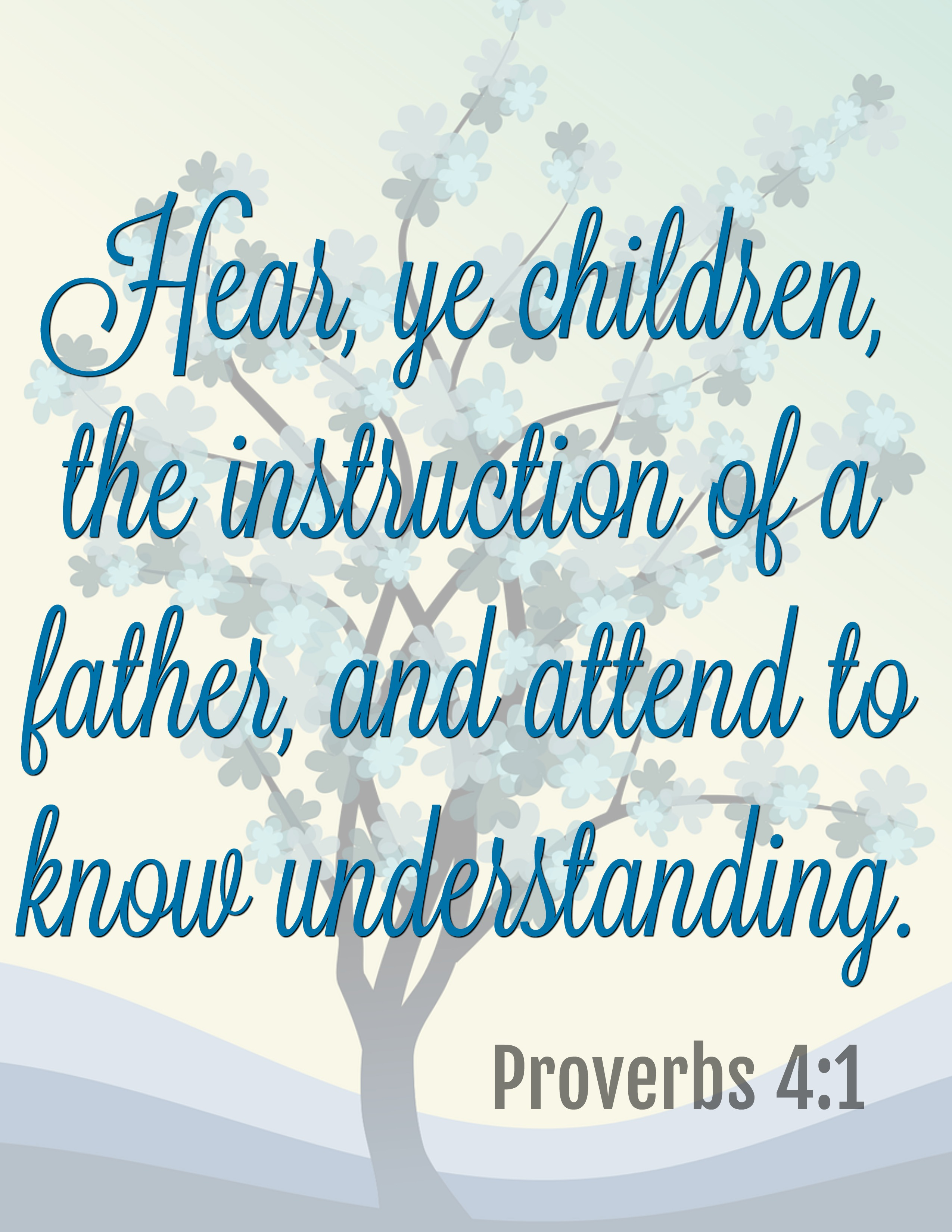 Bible Verses for The Peaceful Preschool