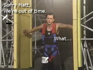 Matt Damon On Ninja Warrior