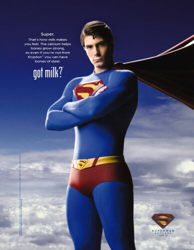 Superman Got Milk!
