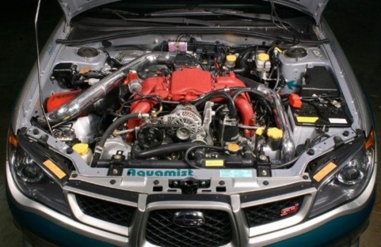 SEMA Subaru H6 Project Build | Blog | PERRIN Performance