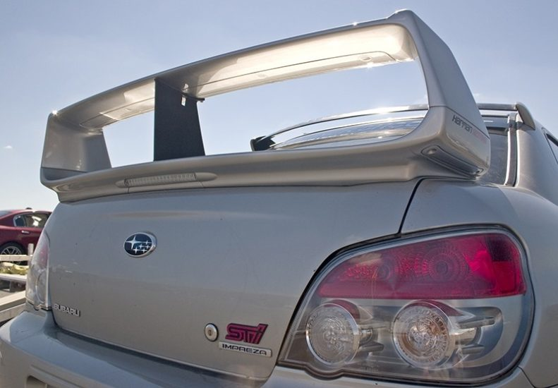 PERRIN Wing Stabilizer on 2004-2007 STI Sedan
