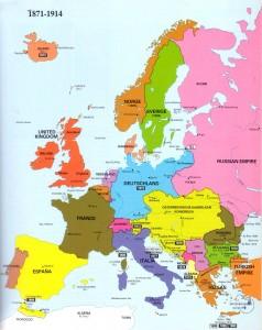 欧洲地图1871-1914