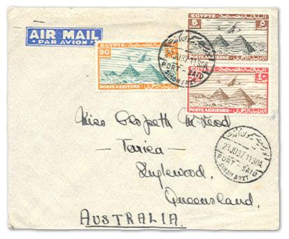 航空邮票:飞行