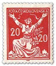 捷克斯洛伐克的邮票:波链条的寓言