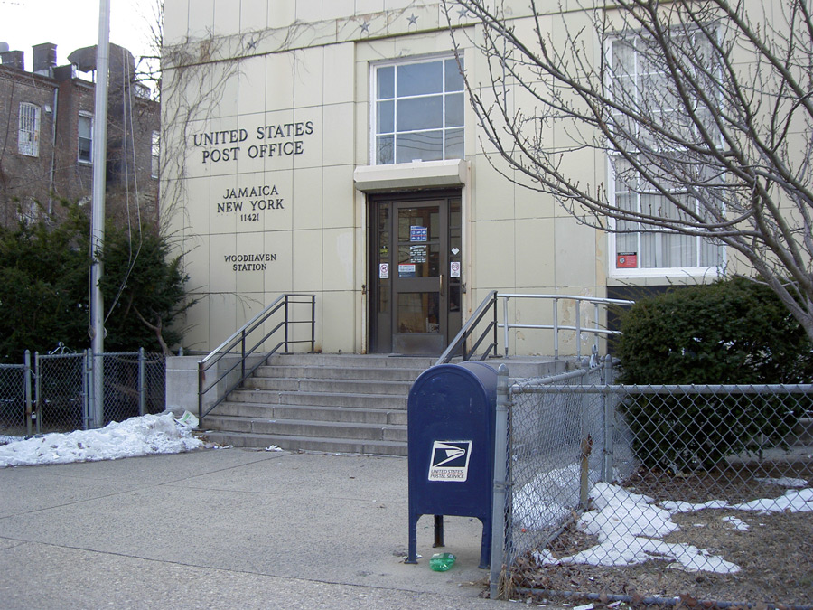 Woodhaven Post Office, Jamaica, New York 11421 (2014