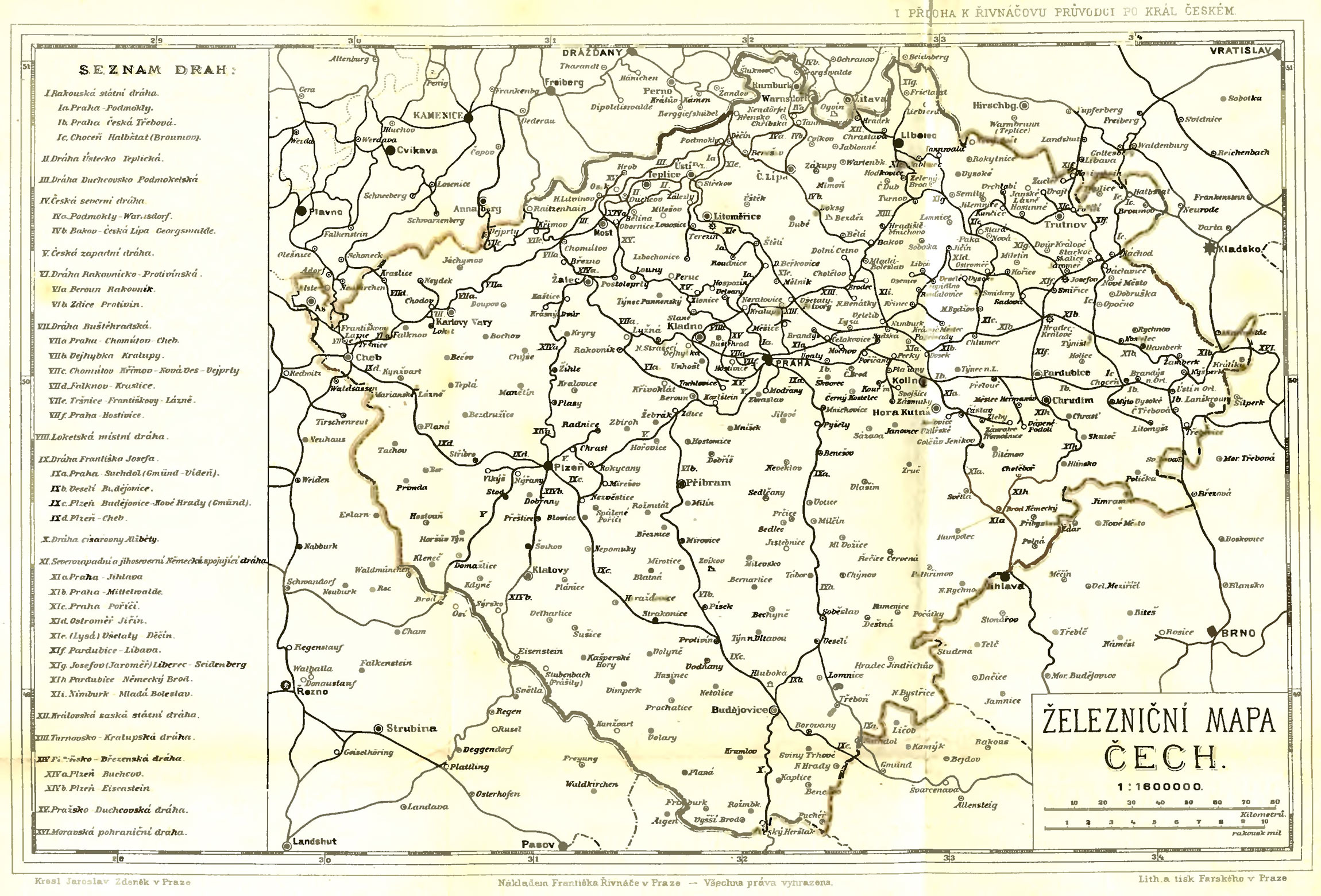 Railway Map of Bohemia (1883) - Philatelic Database on map of africa, map of the us, map of greece, map of senegal, map of the mediterranean, map of tangier, map of atlantic ocean, map of gibraltar, map of fez, map of world, map of romania, map of marrakech, map of nicaragua, map of austria, map of mali, map of algeria, map of honduras, map of saint martin, map of western sahara, map of mongolia,