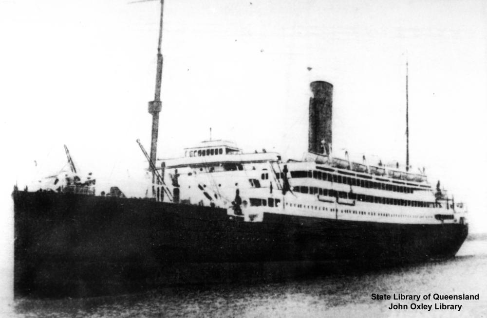 皇家邮政 Ship:Alcantara(1914-16)