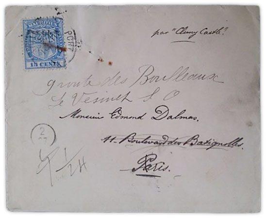毛里求斯 - 封面-1913