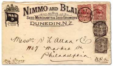 图片完美:新西兰1898-1908