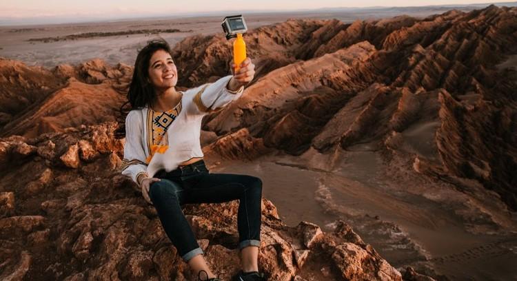 Selfie at Moon Valley