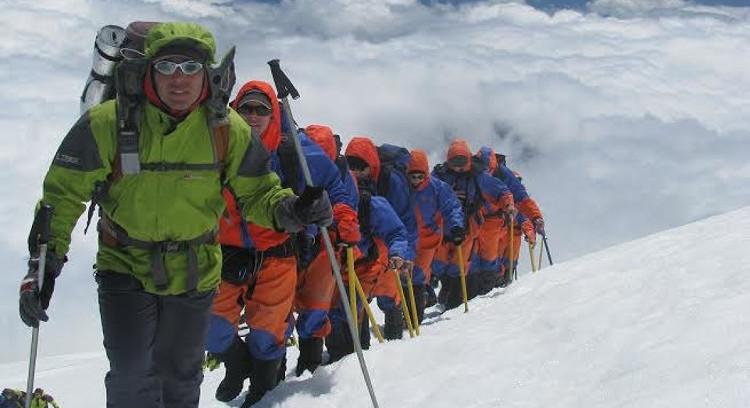 Climbing the Villarrica from Pucón