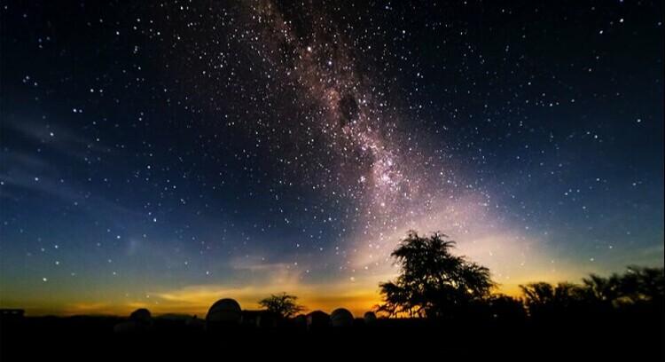 Cielo estrellado en San Pedro de Atacama