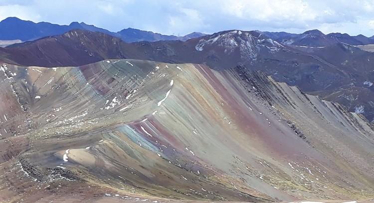 Andes peruanos em palcoyo