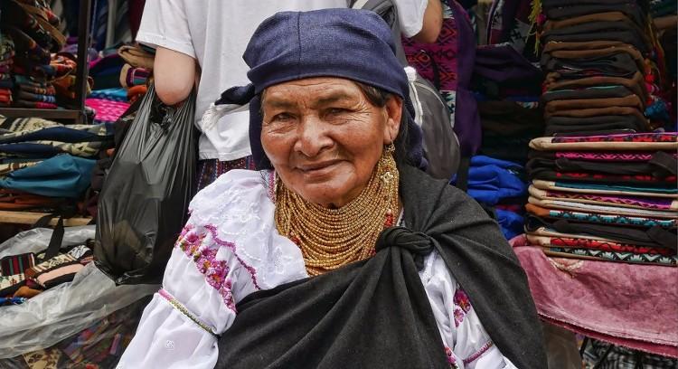 Mujer Andina en Ecuador