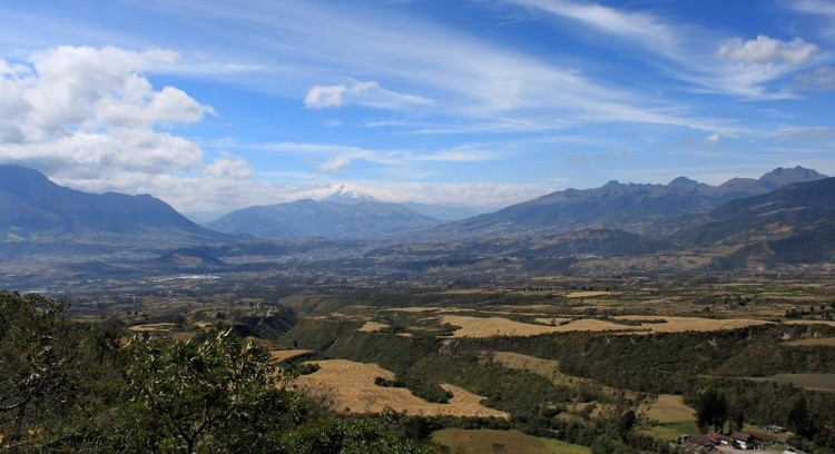 Paisaje Andino en Otavalo