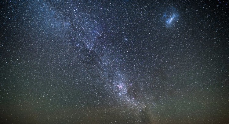 Vía Láctea en el desierto de Atacama