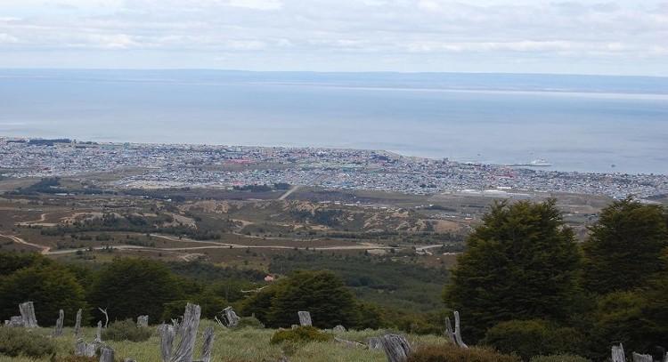 Punta Arenas y estrecho de Magallanes