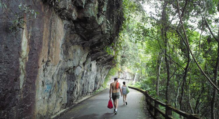 Parque nacional dentro de Rio