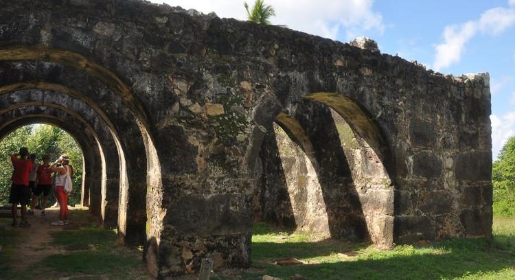 Ruinas en Praia do Forte