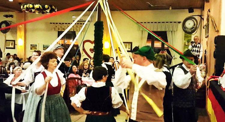 German typical dances in Brazil