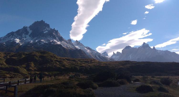 Cerro y Cuernos del Paine