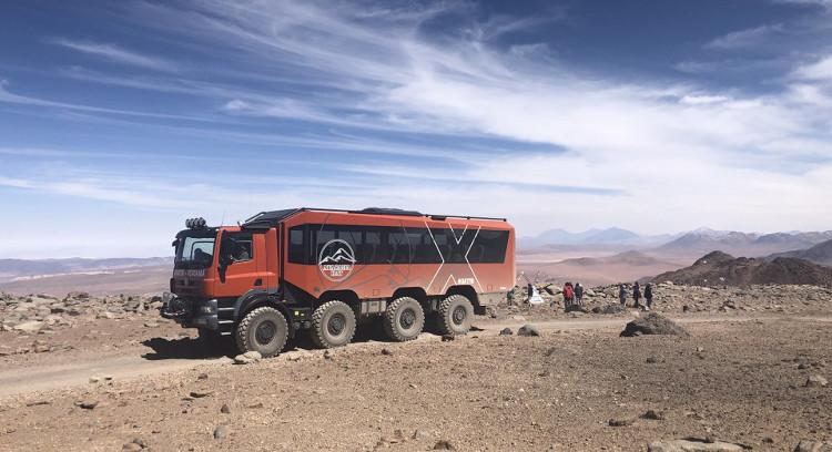 High Altitude Truck Atacama