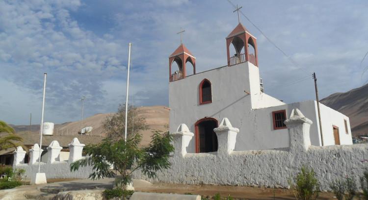 Iglesia San Jerónimo en Poconchile