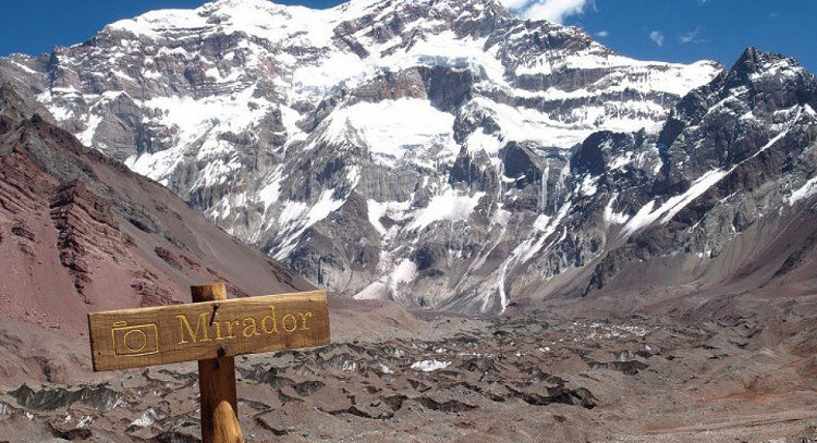 Aconcagua lookout