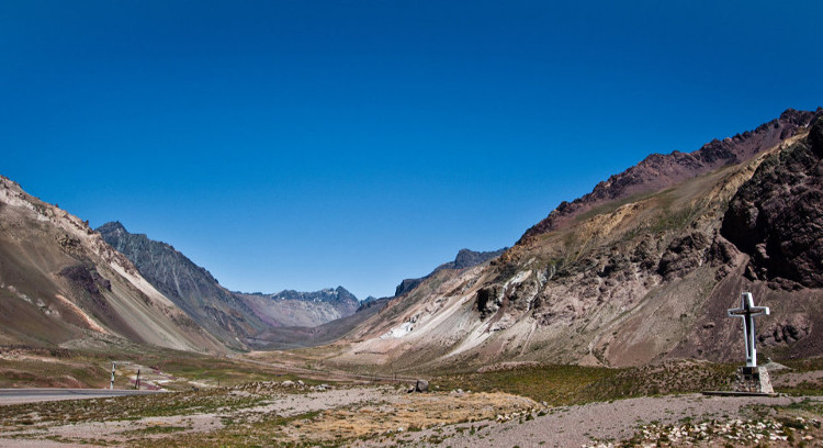 Trek in the Andes