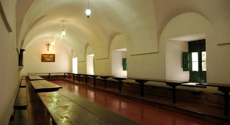 Dining room of the historical building