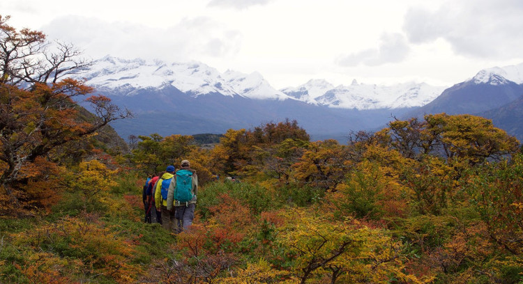 Trekking en estancia patagónica