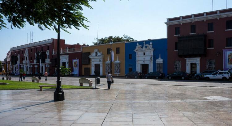Heritage buildings in Trujillo