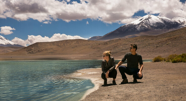 Altiplano lagoons