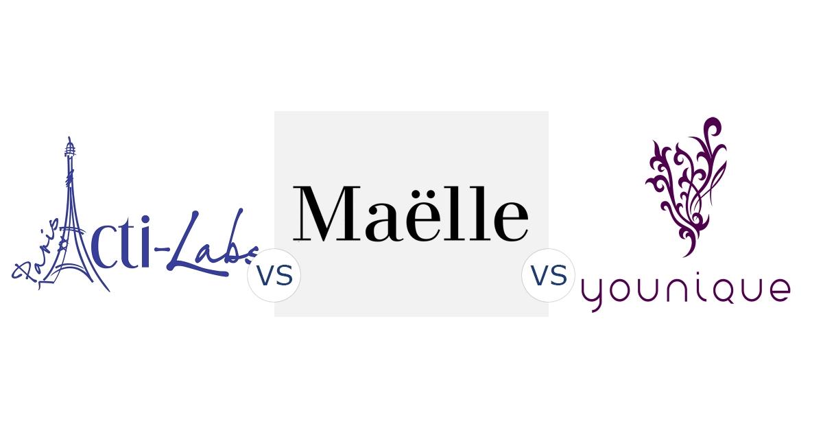Acti-Labs vs. Maëlle vs. Younique