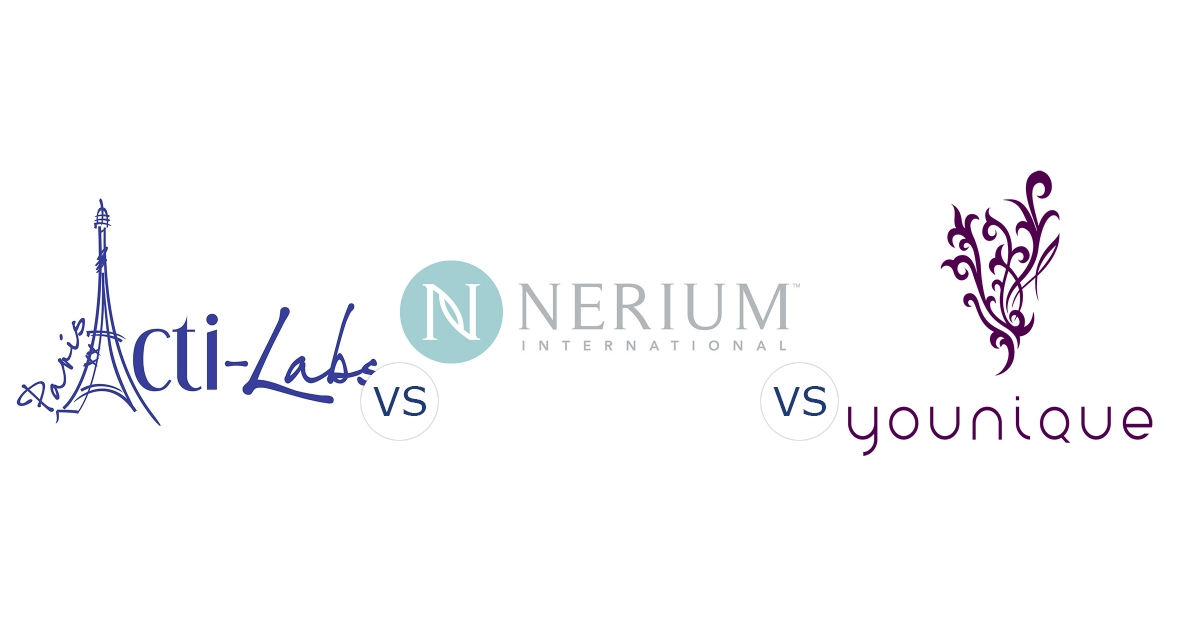 Acti-Labs vs. Nerium International vs. Younique