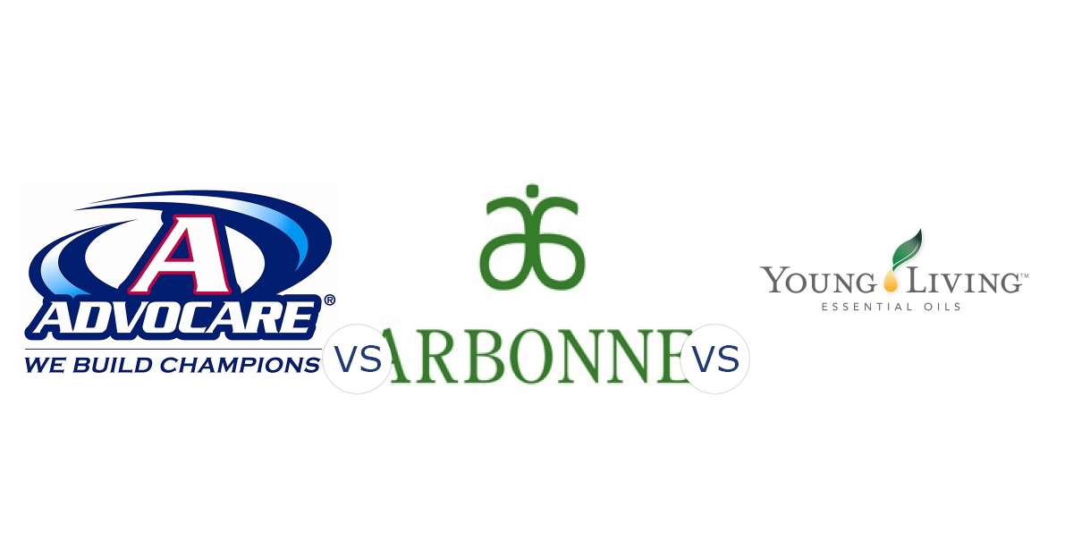 Advocare vs. Arbonne vs. Young Living Essential Oils