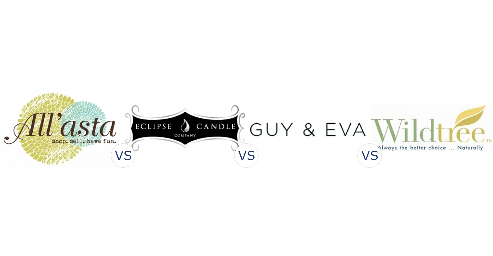 All'asta vs. Eclipse Candle Company vs. Guy & Eva vs. Wildtree