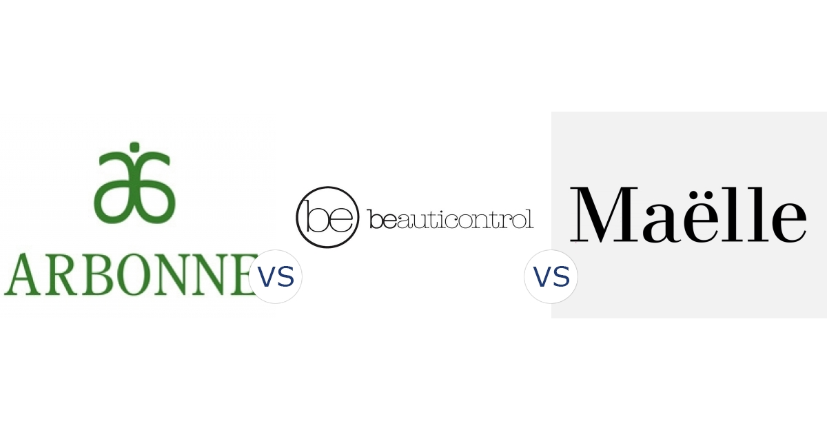 Arbonne vs. BeautiControl vs. Maëlle