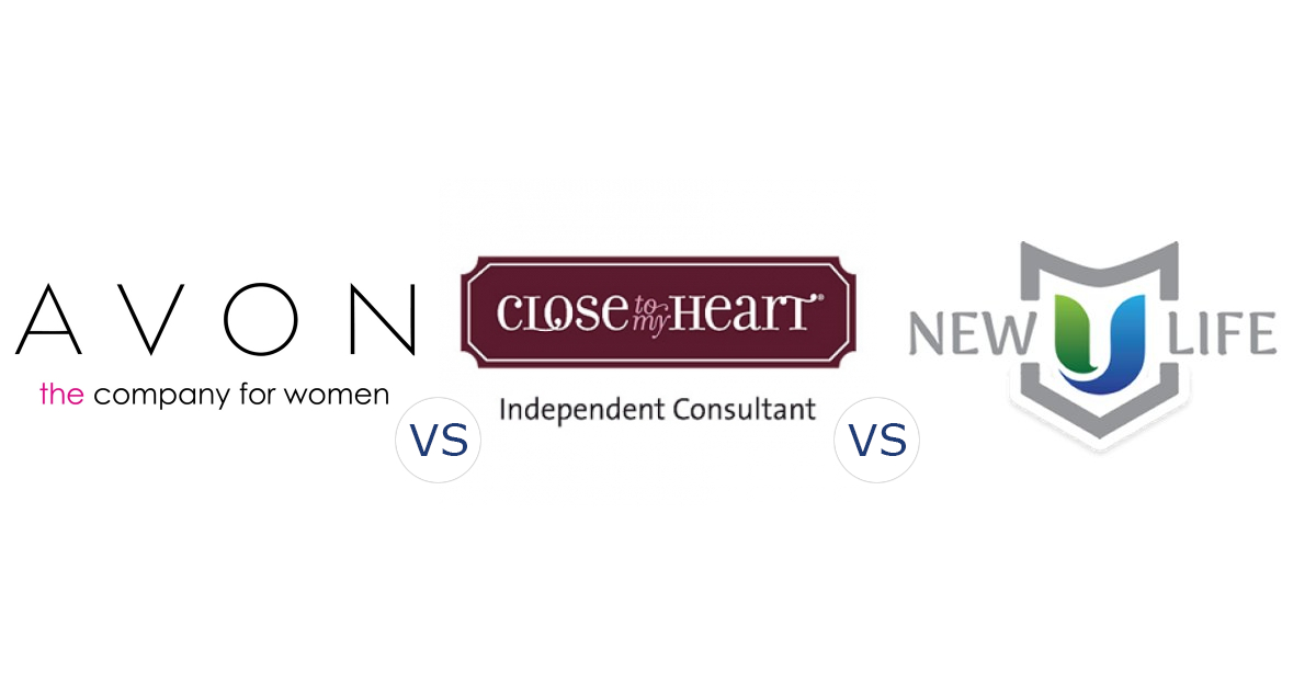 Avon vs. Close to My Heart vs. New U Life