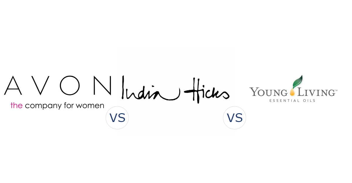Avon vs. India Hicks vs. Young Living Essential Oils