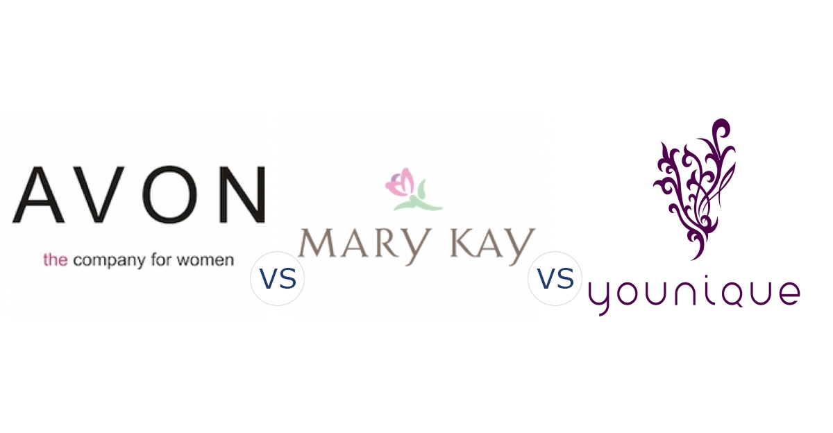 Avon vs. Mary Kay vs. Younique