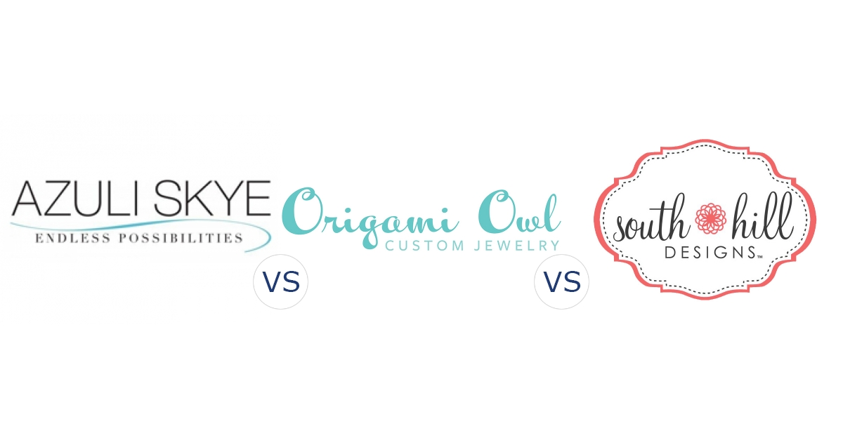 Azuli Skye vs. Origami Owl vs. South Hill Designs