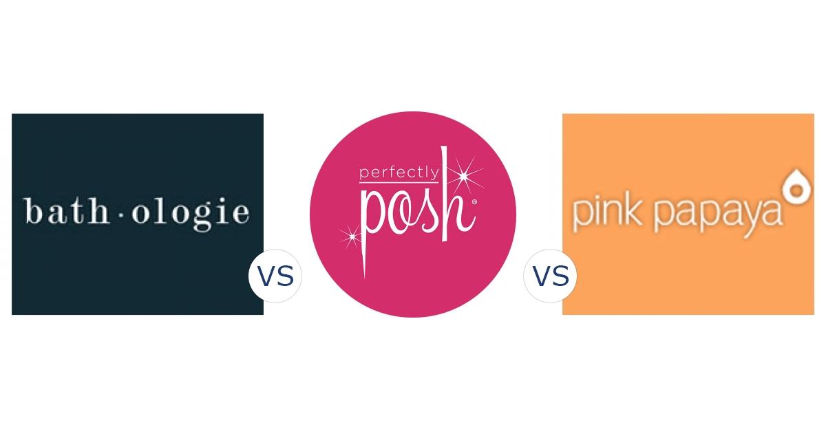 Bathologie vs. Perfectly Posh vs. Pink Papaya