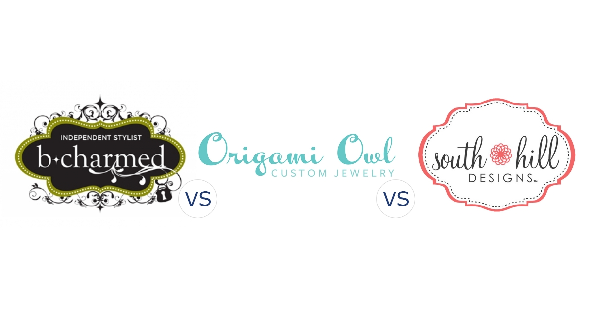 Bcharmed vs. Origami Owl vs. South Hill Designs