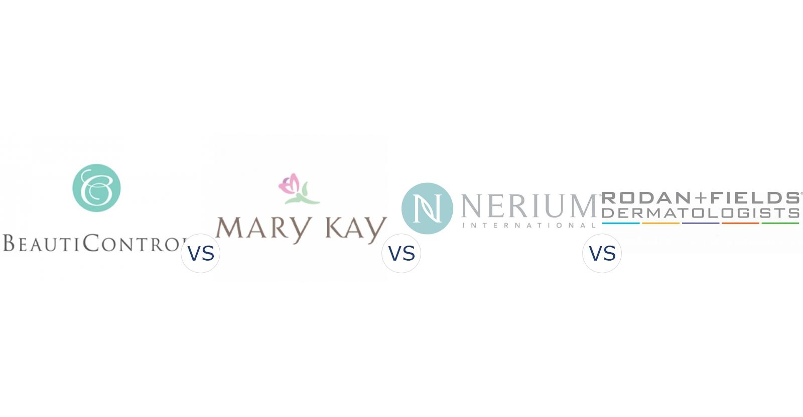 BeautiControl vs. Mary Kay vs. Nerium International vs. Rodan and Fields