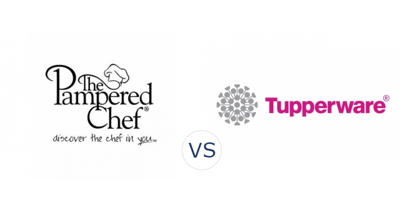 Pampered Chef vs. Tupperware